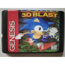 Cartridge Sonic 3D Blast Sega Mega Drive