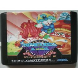 Cartridge Wonder Boy III Sega Mega Drive