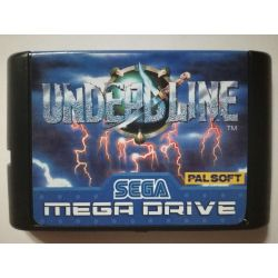 Cartridge Undead Line Sega Mega Drive