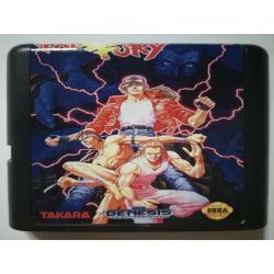 Cartridge Fatal Fury Sega Mega Drive