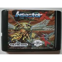 Cartridge Insector X Sega Mega Drive