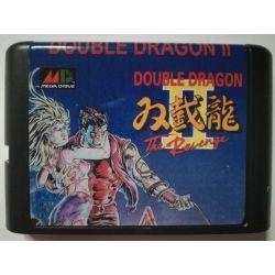 Cartridge Double Dragon II Sega Mega Drive