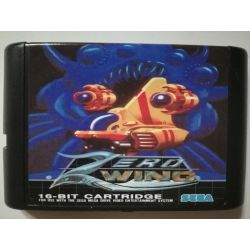 Cartridge Zero Wing Sega Mega Drive