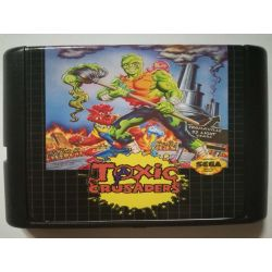 Cartridge Toxic Crusaders Sega Mega Drive
