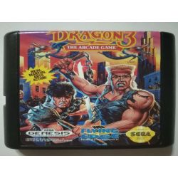 Cartridge Double Dragon 3 Sega Mega Drive
