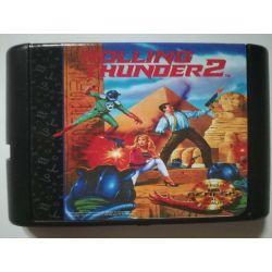 Cartridge Rolling Thunder 2 Sega Mega Drive