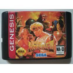 Cartridge Bare Knuckle III Sega Mega Drive