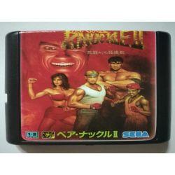 Cartridge Bare Knuckle II Sega Mega Drive