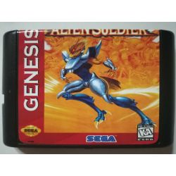 Cartridge Alien Soldier Sega Mega Drive