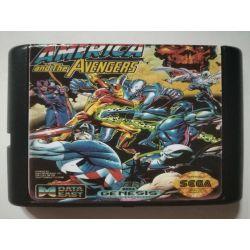 Cartridge Captain America and the Avengers Sega Mega Drive