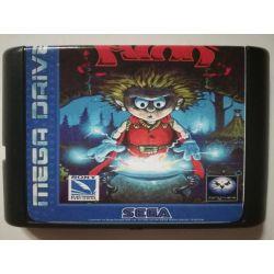 Cartridge The Misadventures of Flink Sega Mega Drive