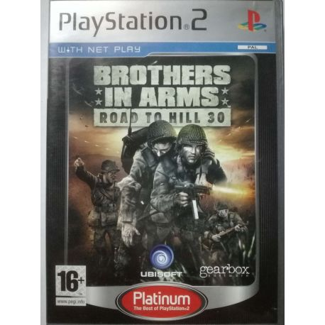 Brother in Arms Road to Hill 30 PS2
