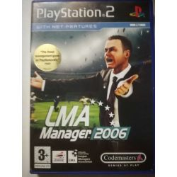 LMA Manager 2006 PS2
