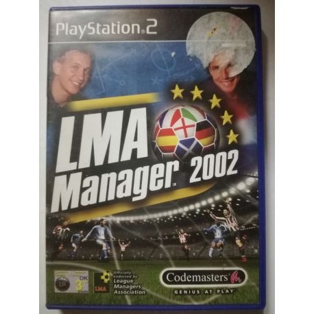 LMA Manager 2002 PS2