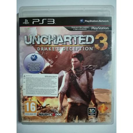 Uncharted 3 Drake´s Deception PS3