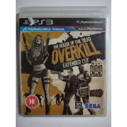 The House of the Dead: Overkill – Extended Cut PS3 nová