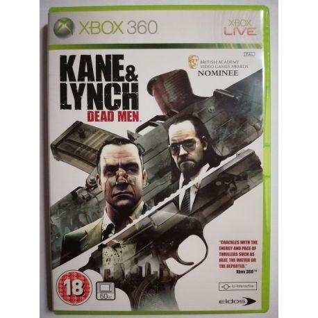Kane & Lynch:Dead Men Xbox 360