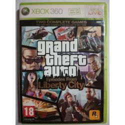 Grand Teft Auto Episodes From Liberty City Xbox 360