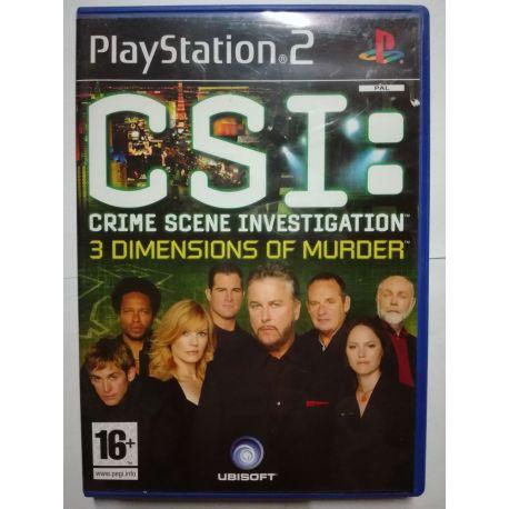 CSI:3 Dimensions of Murder PS2
