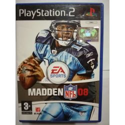 Madden NFL 08 PS2