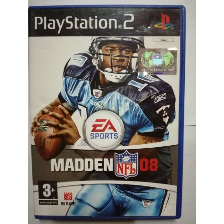 Madden NFL 08 PS2