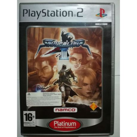 Soulcalibur III Platinum PS2