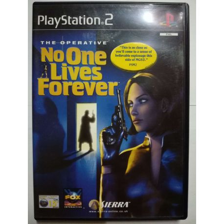The Operative: No One Lives Forever PS2