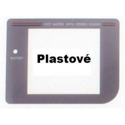 Nové náhradní sklíčko pro GAMEBOY Classic / šedé plast