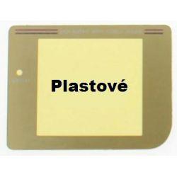 Nové náhradní sklíčko pro GAMEBOY Classic / Gold plast