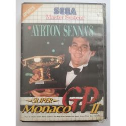 Ayrton Senna´s Super Monaco GP II Sega Master System