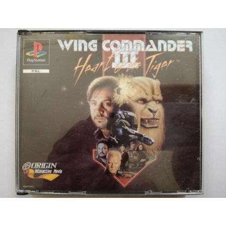 Wing Commander III Heart of the Tiger PSX