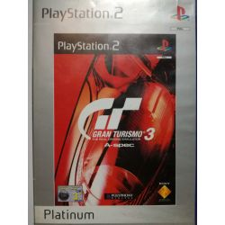 Gran Turismo 3 A-Spec Platinum PS2