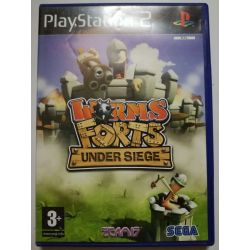 Worms Forts: Under Siege Ps2