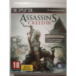 Assassins Creed 3 Exclusive PS3