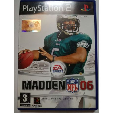 Madden NFL 06 PS2