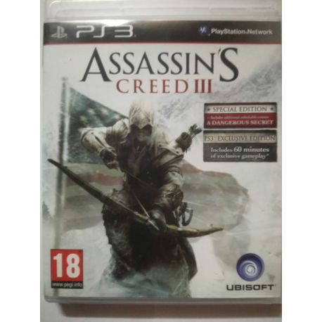 Assassins Creed 3 Exclusive Special PS3