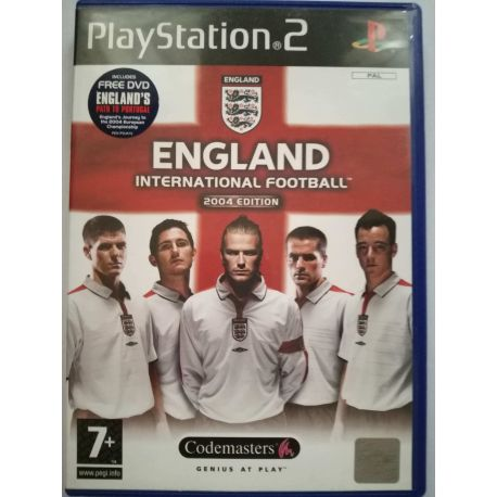 England International Football PS2