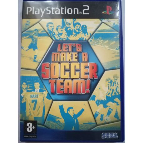 Let´s Make A Soccer Team! PS2
