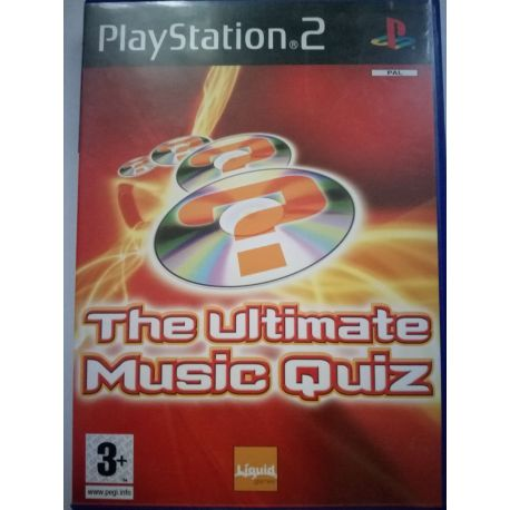 The Ultimate Music Quiz PS2