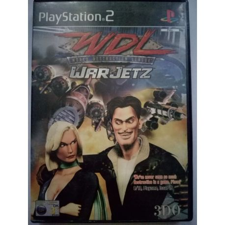 World Destruction League: Warjetz PS2