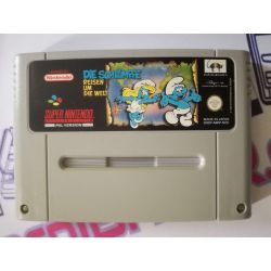 The Smurfs II SNES