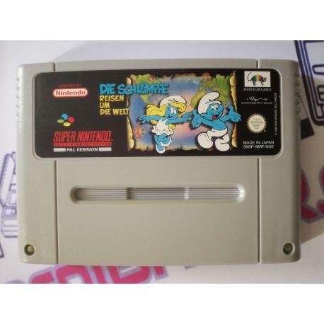 The Smurfs II SNES
