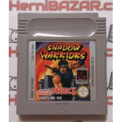 Shadow Warriors Gameboy