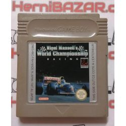 Nigel Mansell´s World Champinship Gameboy