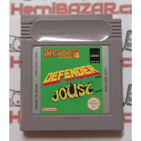 Defender Joust Gameboy