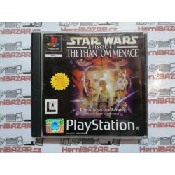 Star Wars The Phantom Menace PSX PS1