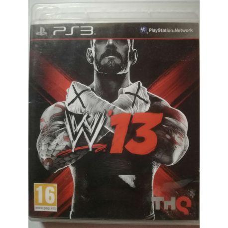 WWE 13 PS3