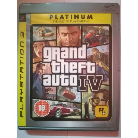 GTA IV Platinum PS3