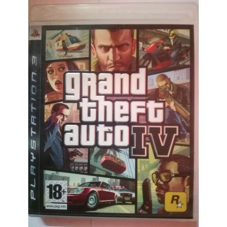 GTA IV bez mapy PS3