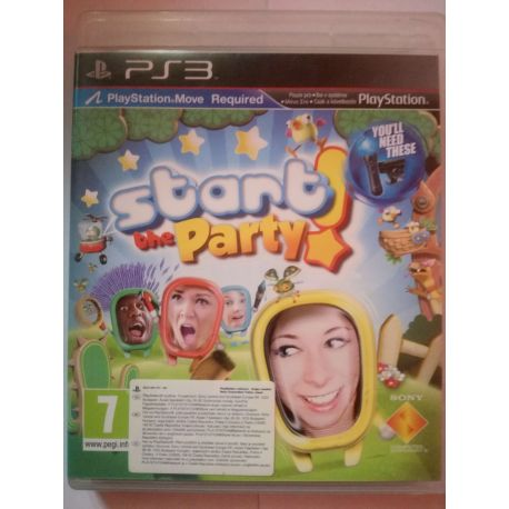 Start the Party PS3